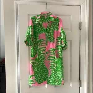 Lilly Pulitzer Pink Pout Dress
